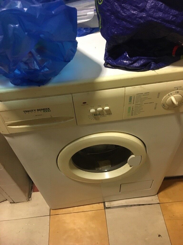 Washing machine for spare parts