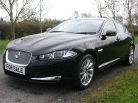 Jaguar XF D V6 Premium Luxury (black) 2013