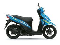 Suzuki Address 110 Scooter MotoGP special edition colours