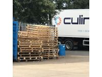 Free broken wooden pallets, needed gone, collection only