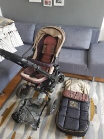 Jane rider matrix pushchair with accessories and FREE maxi cosi car seat.