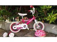 Huffy Girls 12in Bike