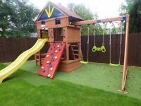 Outdoor swing / chute / climbing frame