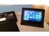 """Blackberry Playbook 64gb 7"""" screen perfect conditions plus extra cases"""