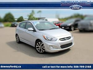 2017 Hyundai Accent SE HATCH BACK SUNROOF HEATED SEATS HARD TO F