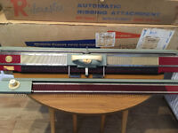 Knitting Machine - Knitmaster 6500 Kiniting Machine + Ribmaster 1950/60's vintage