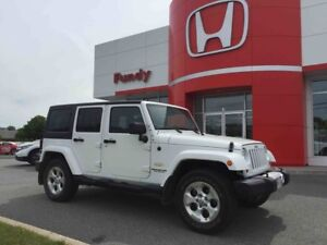 2013 Jeep Wrangler Unlimited Sahara Only 37,500 Kms