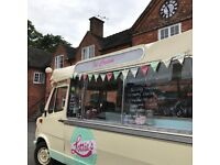 Ice Cream Van - Vintage Mercedes £18,500