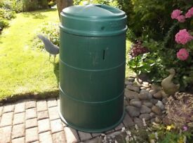 Large Green Plastic Garden Compost Bin