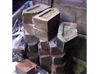 Squint bricks Victorian or Edwardian reclaimed.