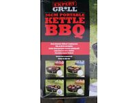 KETTLE BBQ Barbeque, Portable Barbeque, Ideal Camping, Picnic, Beach