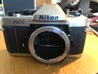 Nikon FM10 film camera body - perfect working order, excellent condition