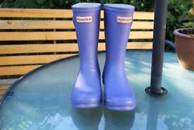 "Hunter Wellies, Children's size UK12 ""Iris"" Colour"
