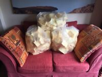 MEMORY FOAM - 3 x LARGE BAGS OF TOP GRADE 100% FIRM FOAM PIECES