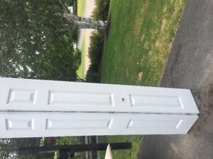 White bi- fold doors / excellent condition