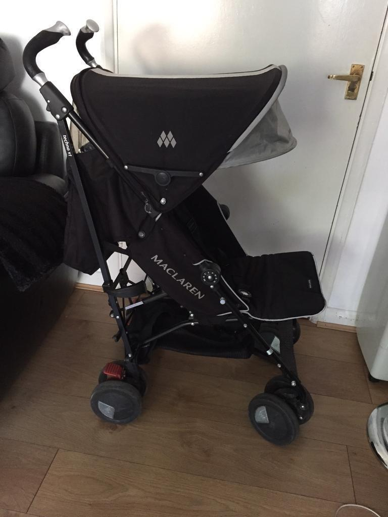 Maclaren techno xt pushchair in good used condition
