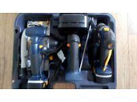 18 Volt Cordless Tool Kit