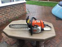 Stihl chainsaw 024