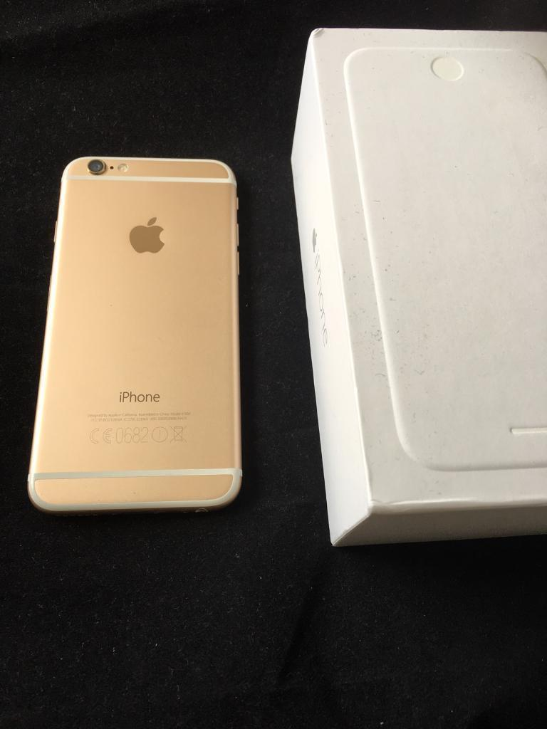 Apple iphone 6 16gb gold o2 giffgaffin Sheldon, West MidlandsGumtree - Apple iphone 6 16gb gold on o2 giff gaff Used phone in mint condition has small chip , please see pics. Comes with box and charger Price is fixed !