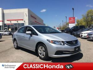 2015 Honda Civic Sedan LX | REAR CAM | ECON | BLUETOOTH | AUX |