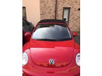 Very Good condition VW Beetle Convertible. SERVICED + MOT