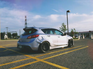 2013 Mazdaspeed 3 Rocket Bunny - MUST SEE