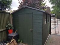8' x 6' shed