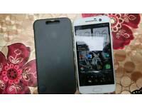 HTC 10 white 32 gb pristine including ice view genuine case