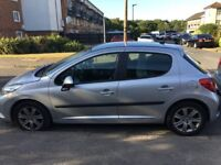 Low Mileage Automatic Peugeot 207 for sale