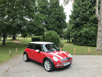 2004 Mini 1.6 Cooper ( Chili ) 3 Door Hatchback Red / White