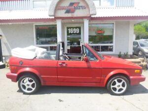 Volkswagen Cabriolet COUPÉ 2 PORTES *ORIGINAL* 1989