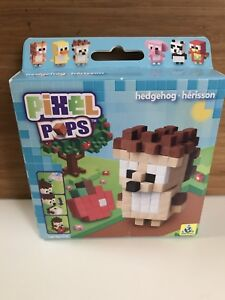 Brand new in box, Pixel Pops minecraft style Hedgehog craft