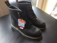 Dr Martens steel toe cap industrial boots