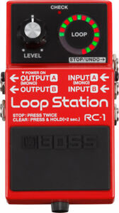 MINT CONDITION RC-1 LOOP PEDAL
