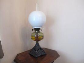 Art Nouveau period Oil Lamp