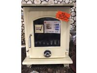 Red and Cream DEFRA Approved Stoves SALE REDUCED