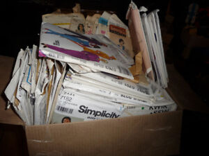 Big Box of Old Sewing Patterns