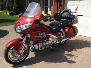 Goldwing and custom trailer package
