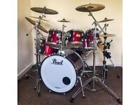 Pearl drumkit complete