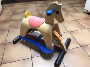 Lusitano Wooden Rocking Horse Glider by Plan Toys - Wood Toy