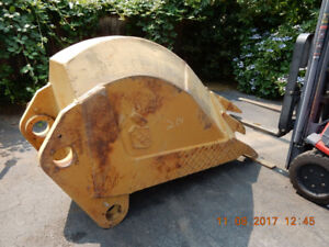 "Adco Hensley 300-550 Class 30"" 5 Shank Rock Ripping Digging Buck"