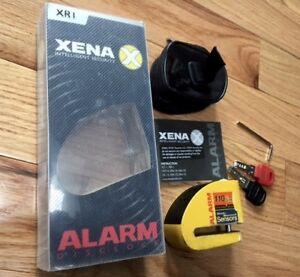 XENA XR 1 MOTORCYCLE /SCOOTER DISC LOCK / ALARM