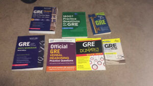 GRE Prep Books for $80 instead of $180!