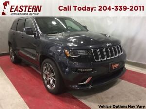 2015 Jeep Grand Cherokee SRT 5.7 HEMI 8.4 UCONNECT  4X4 NAV SUNR