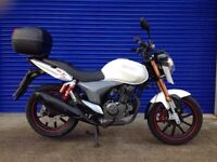 2013 KEEWAY RKV 125 SPORTS NAKED , VERY GOOD CONDITION , HPI CLEAR , 12 MONTHS MOT PX WELCOME