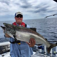 Fishing Charters Grand Bend Salmon, Trout and Walleye