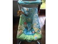 Fisher Price soothe and go baby bouncer