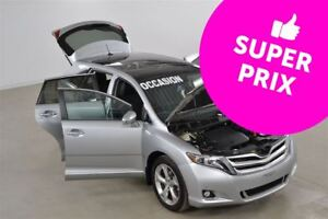 2015 Toyota Venza V6 AWD Limited JBL+Cuir+GPS+Toit Panoramique