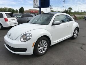 2014 Volkswagen The Beetle 1.8 TSI Comfortline Power sunroof!