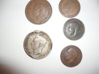 Old Coins in 3 sets